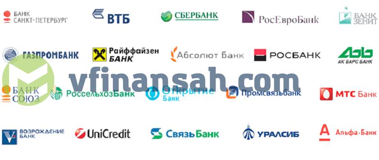 банки партнеры альфа банка без комиссии в спб