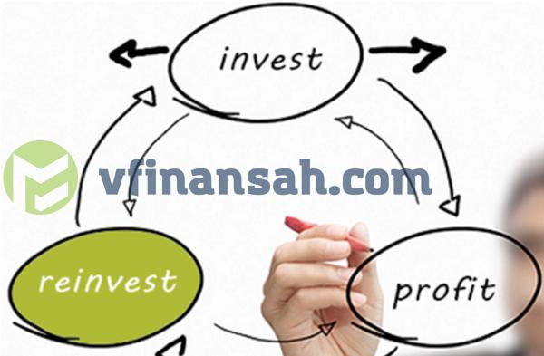 Реинвестирование - это повторное вложение прибыли, полученной от первоначальных инвестиций